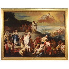 18th Century Oil on Canvas Italian Religious Painting, 1770
