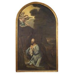 18th Century Oil on Canvas Italian Religious Painting Jesus, 1770