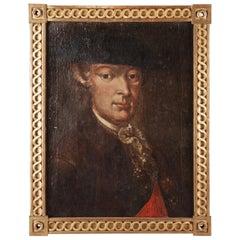 18th Century Oil Paint Portrait by Friedrich Wilhelm von Haugwitz