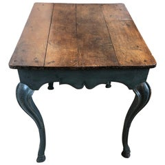 18th Century Painted French Table