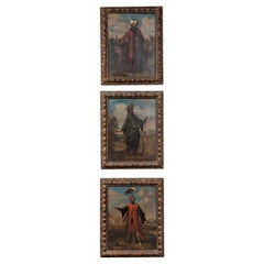 18th Century Paintings of Ottoman Empire Figures