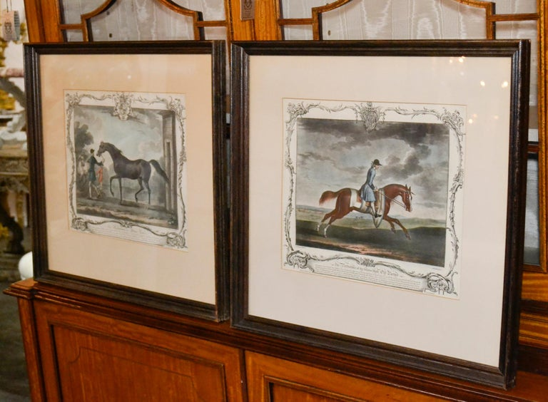 18th Century Pair of English Engravings For Sale 6