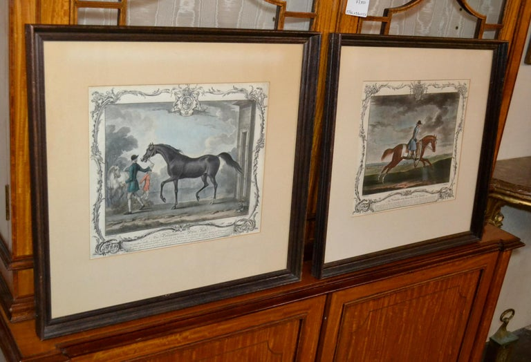 18th Century Pair of English Engravings For Sale 1