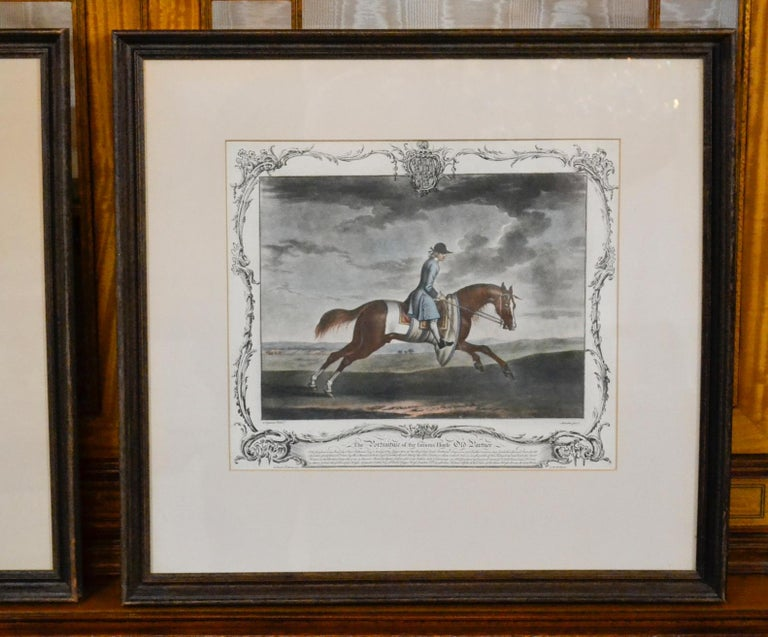 18th Century Pair of English Engravings For Sale 2