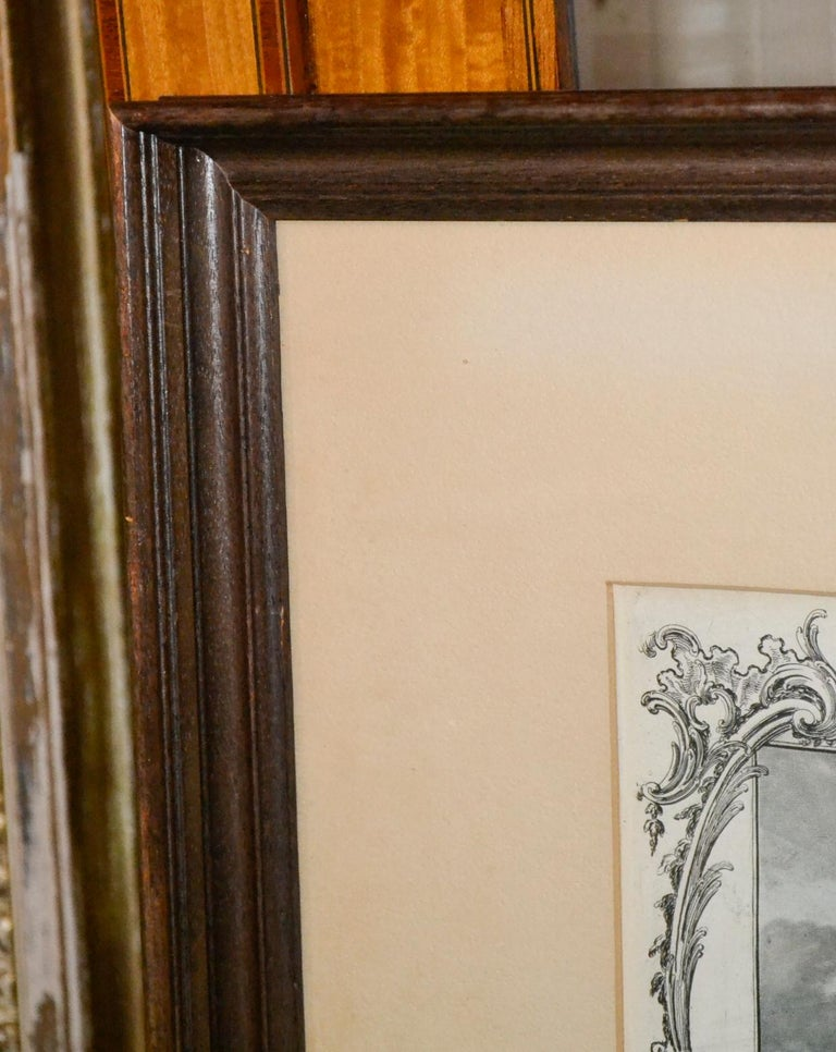 18th Century Pair of English Engravings For Sale 5
