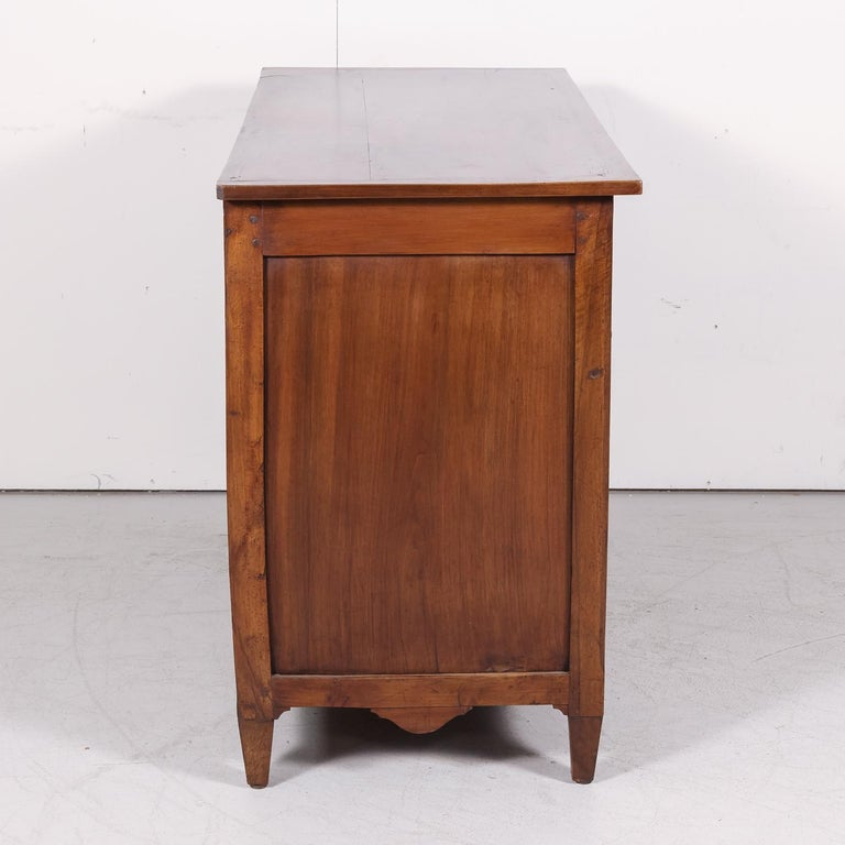 18th Century Period Louis XVI Walnut and Parquetry Commode For Sale 9