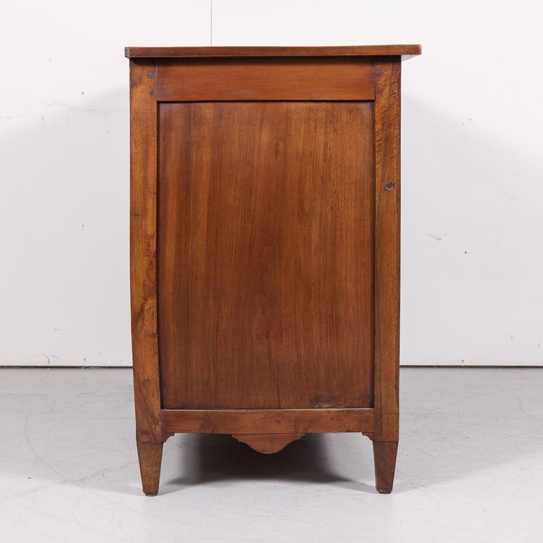 18th Century Period Louis XVI Walnut and Parquetry Commode For Sale 10