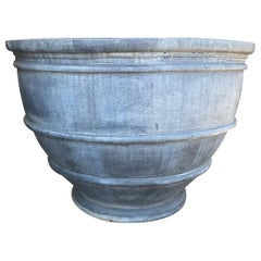 18th Century Pewter Planter