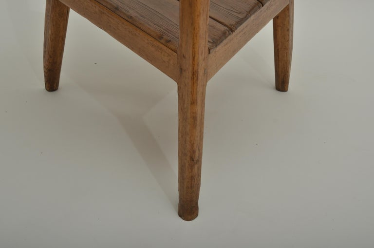 Late 18th Century 18th Century Pine Cricket Table England, circa 1780 For Sale