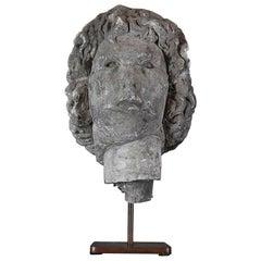18th Century Plaster Bust