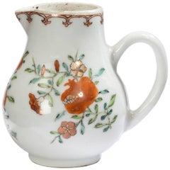 18th Century Porcelain Sparrow Beak Jug