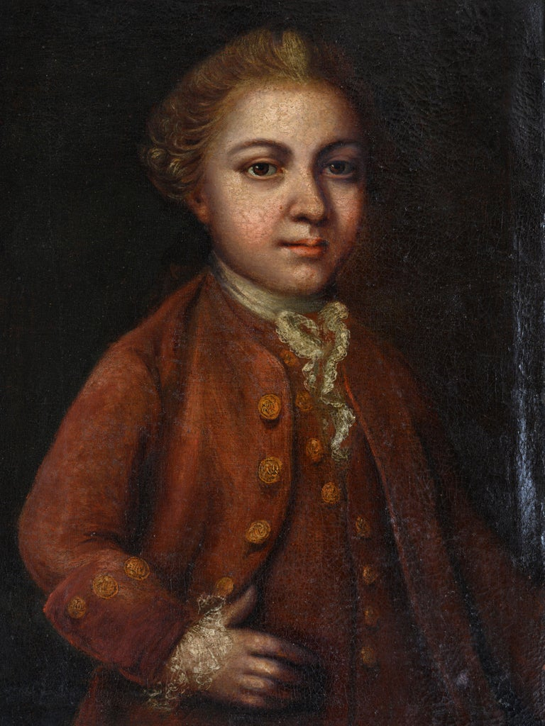 18th Century Portrait In Good Condition For Sale In Helsingborg, SE