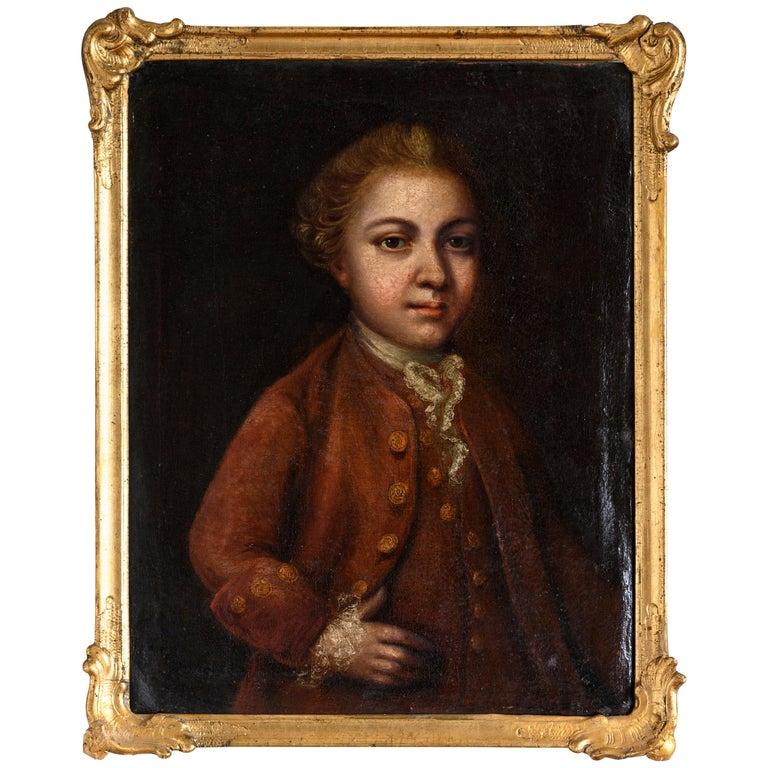 18th Century Portrait For Sale