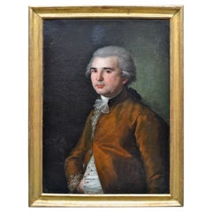 18th Century Portrait of a French School Aristocratic Gentleman