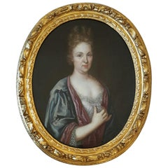18th Century Portrait of a Noble Woman