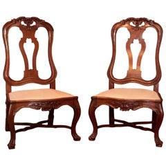 18. Jahrhundert Portugiesische Stühle
