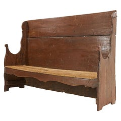18th Century Primitive Catalan Bench
