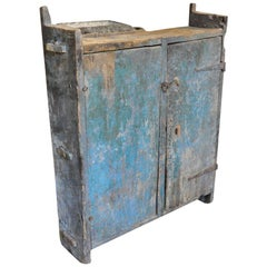 18th Century Primitive Portuguese Cupboard