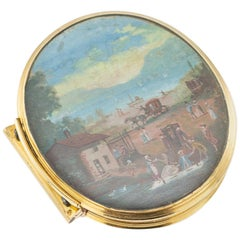 18th Century Rare Dutch 18-Karat Gold Snuff Box, Amsterdam, circa 1739