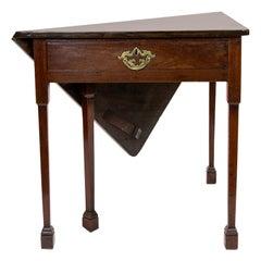 18th Century Rare Handkerchief Table