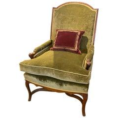 18th Century Regence Period Walnut Armchair