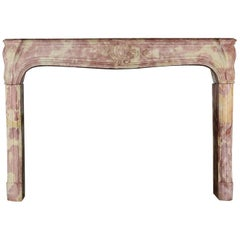 18th Century Regency French Country Antique Fireplace Mantle