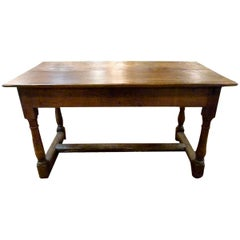 18th Century Restored Walnut Table