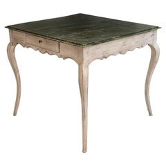 18th Century Rococo Wood French Game Table