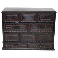 18th Century Rosewood Specimen Cabinet, Dutch, circa 1780