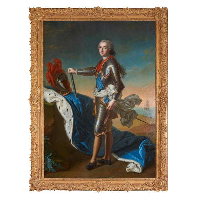 18th Century Royal Portrait by Nattier Workshop For Sale