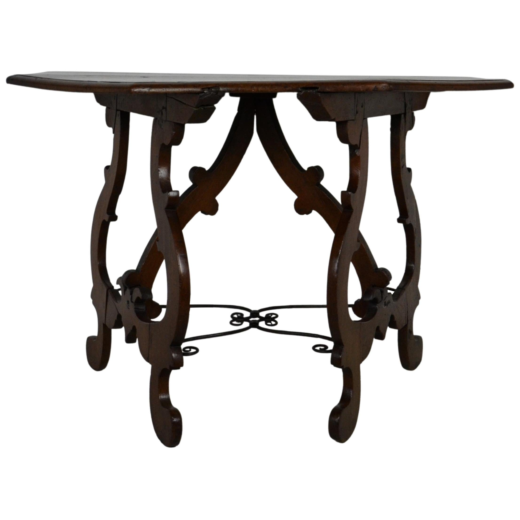 18th Century Rustic Console Table