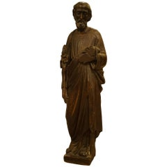 18th Century Sculpture of Saint Anthony