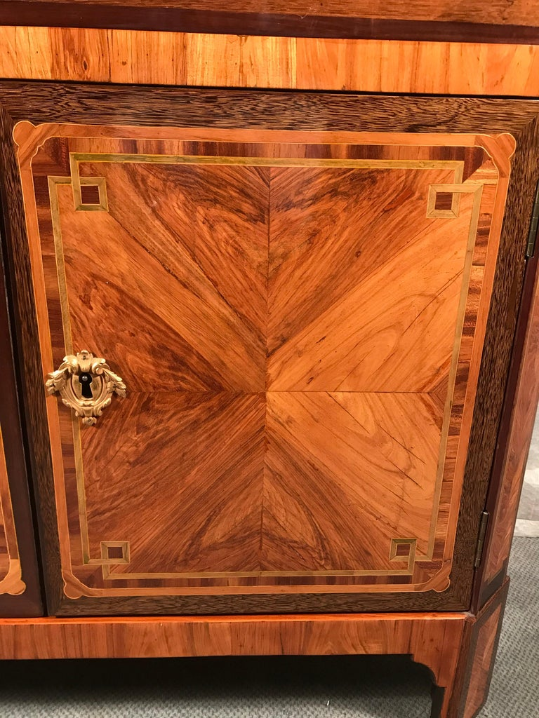 Late 18th Century 18th Century Fall top Desk (Secretaire a Abattant) Paris 1780, with Signature For Sale