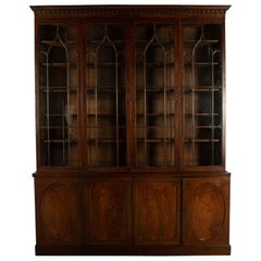 18th Century Sheraton Attributed Library Bookcase