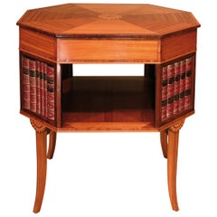 18th Century Sheraton Period Satinwood Occasional Table