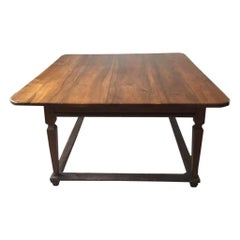 18th Century Solid Wood Italian Dining Table