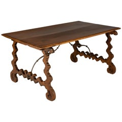 18th Century Spanish Baroque Writing Table