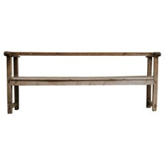 18th Century Spanish Bench