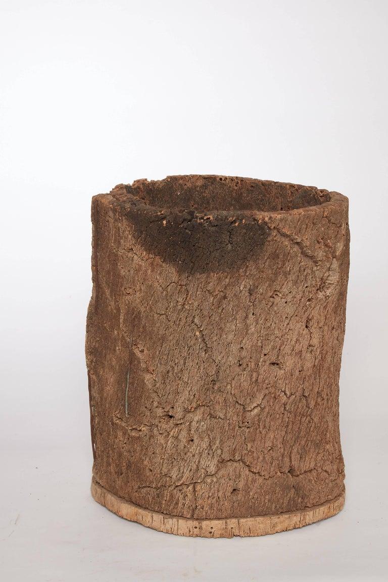 18th century Spanish cork beehive.