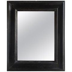 18th Century Spanish Ebonized Mirror