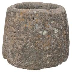 18th Century Spanish Natural Stone Well Head w/ Rope Erosion