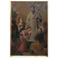 18th Century Spanish Oil Painting