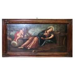 18th Century Spanish Oil Painting of Mary Magdalene