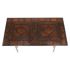18th Century Spanish Rosewood Trestle Table