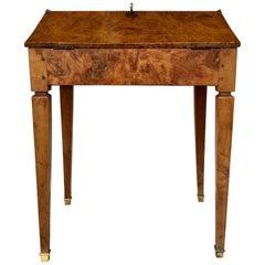 18th Century Spanish Secretary Desk Bedside Table