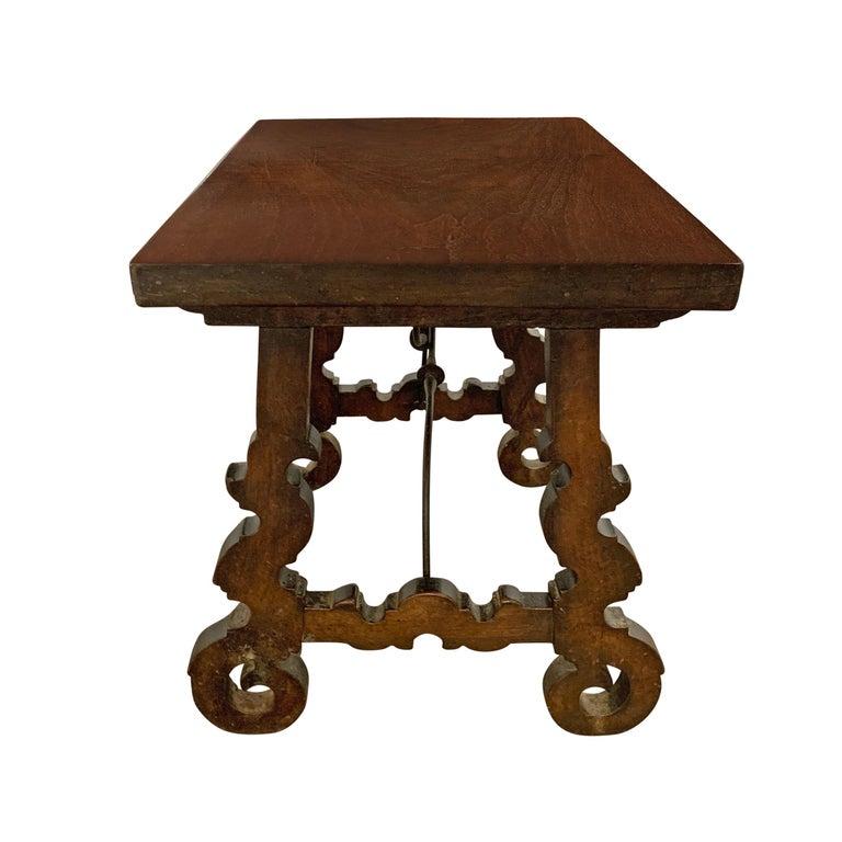 Walnut 18th Century Spanish Table For Sale