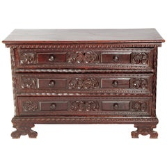18th Century Spanish Walnut Chest