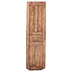 18th Century Spanish Wood Carved Patinated Rustic Door