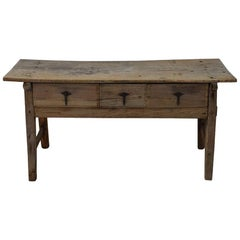 18th Century Spanish Wooden Side Table