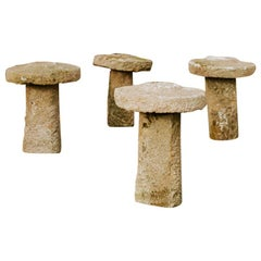 18th Century Staddle Stones from Galicia or Spain